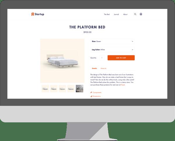 Startup - Shopify theme